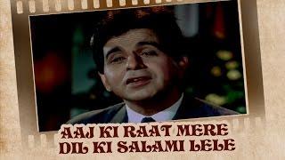Aaj Ki Raat Mere Dil Ki Salami Lele (Video Song) | Ram Aur Shyam | Dilip Kumar & Waheeda Rehman