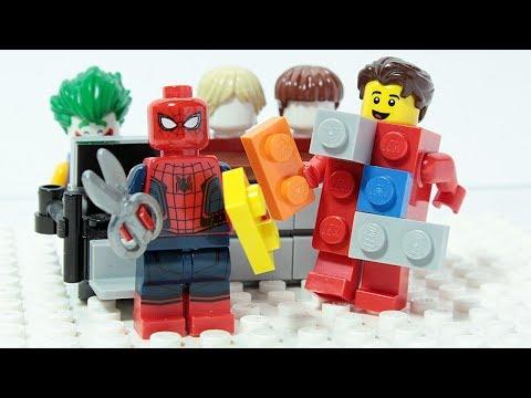 Xxx Mp4 LEGO SPIDER MAN JOKER Brick Building Fun 3gp Sex
