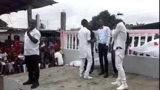 Mariage de Kiki creole danseur de coupe decale et n'bobolo