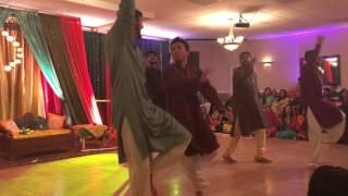 Humzah and Mashail, Mehndi- Bhangra