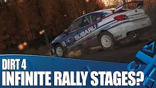 Dirt 4 Has Infinite Rally Stages - How Does It Work?