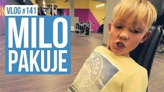 Milo pakuje na siłowni / VLOG #141