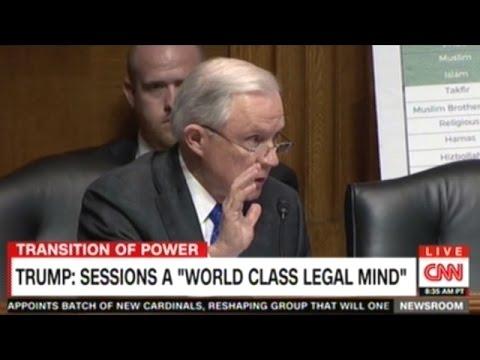 CNN Senator Sessions Was Okay With The KKK Until He Found Out They Smoke Marijuana