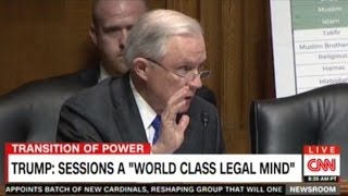 "CNN ""Senator Sessions Was Okay With The KKK Until He Found Out They Smoke Marijuana"""