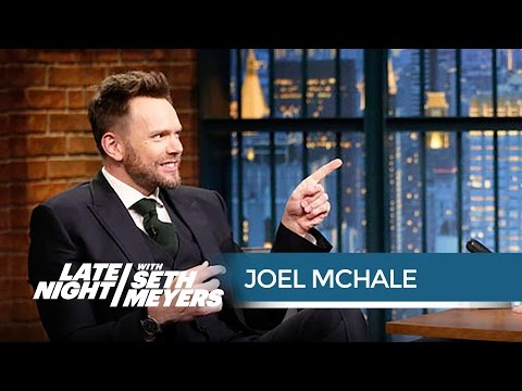 Joel McHale Is Glad Donald Trump Wasn t at His White House Correspondents Dinner