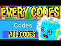 Download Video Download EVERY WORKING CODE Bubble Gum Simulator Giant Robot Update 14 Roblox 3GP MP4 FLV