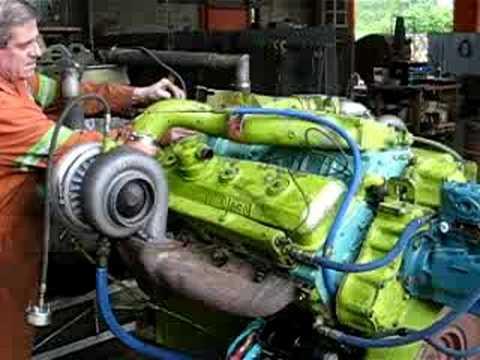 V12 Detriot Diesel 525HP