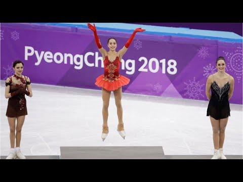 Xxx Mp4 Russia S Alina Zagitova Wins Figure Skating Gold 3gp Sex