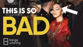 Bad News For Cardi B & Nicki Minaj | #NYFW 2018 Fight Footage