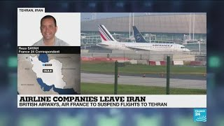 "Airline companies leave Iran: ""More bad news for Tehran and the Iranian economy"""