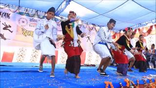 NEPAL EVERGREEN SCHOOL || REPSA DANCING COMPETITION-2073 || SALAIJO