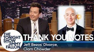 Thank You Notes: Jeff Bezos