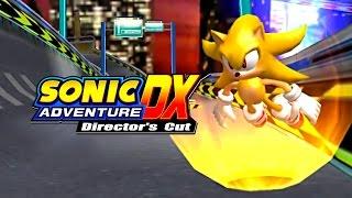 Sonic Adventure DX - Speed Highway - Super Sonic 4K HD Widescreen 60 fps
