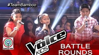 "The Voice Kids Philippines 2015 Battle Performance: ""Your Love by Kate, Paul, and Elha"