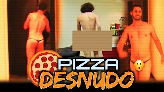 ► Pidiendo Pizza DESNUDO | Bromas Pesadas | Videos de Risa