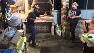 Dançando no Rancho do Adolfo