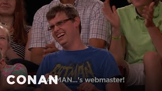 Audience Member Theme Songs: Batman's Webmaster Edition  - CONAN on TBS
