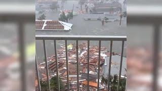 Catastrophic damage at Mexico Beach, FL following Hurricane Michael