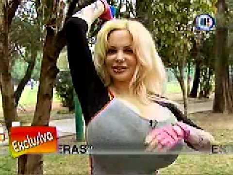 Eder Hernández Sabrina haciendo ejercicio