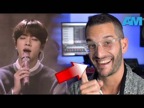 VOCAL COACH reacts to BTS singing FIX YOU live on MTV