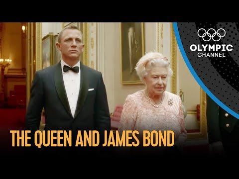 Xxx Mp4 James Bond And The Queen London 2012 Performance 3gp Sex