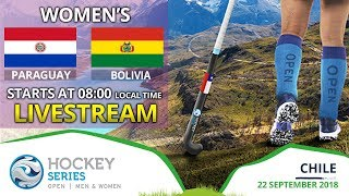 Paraguay v Bolivia | 2018 Women's Hockey Series Open | FULL MATCH LIVESTREAM