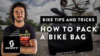 How to Pack A Bike Bag with Yanick The Mechanic