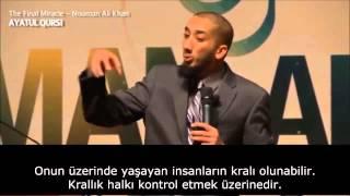 Ayetel Kürsi'deki Bilinmeyen Düzen (Nouman Ali Khan) Tr Altyazılı