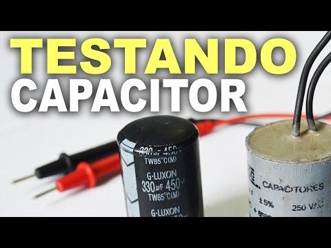 Como testar capacitor com multímetro digital