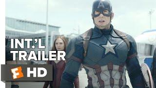 Captain America: Civil War Official International Trailer #1 (2016) - Chris Evans Movie HD
