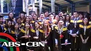 TV Patrol: Buong klase, nasa honor roll ng Ateneo de Davao University