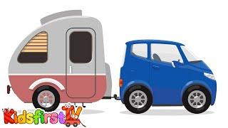Doctor McWheelie & car trailer. Kids vehilces.