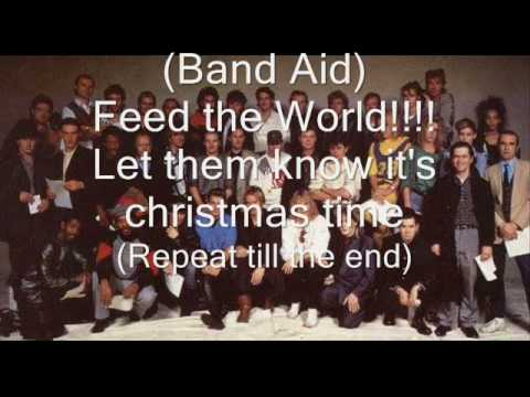 Band Aid - Do they know it's christmas lyrics (DESCRIPTION UPDATE)
