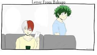[Boku No Hero Academia Comic Dub] Letter From Bakugo