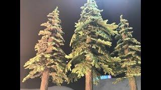 Miniature Terrain Tutorial- Advanced Pine Trees