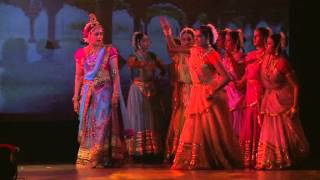 radha krishna leela 1 by Hema Malini at ISKCON Kanpur