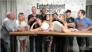 Arrow Cast at EW Hideout Comic-Con 2014