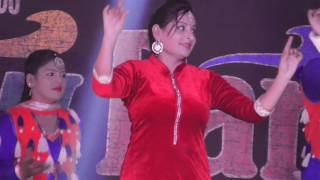 Dance on Stage in a Punjabi Marriage -1