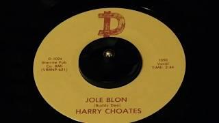 "Harry Choates - ""Jole Blon"" 45rpm"