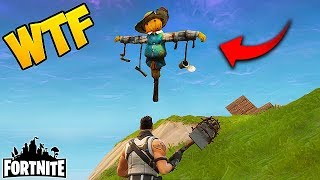 FLYING SCARECROW?! - Fortnite Funny Fails and WTF Moments! #40 (Daily Best Moments)