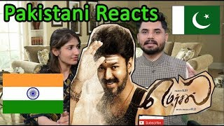 Pakistani Reacts To Mersal - Official Tamil Teaser | Vijay | A R Rahman | Atlee
