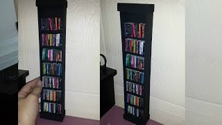 How to make a Doll Book Shelf