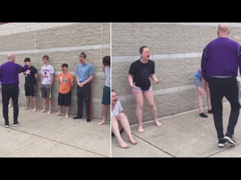 Watch These High Schoolers Get Pepper Sprayed by Their Teacher