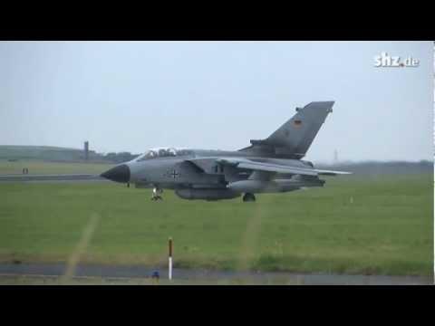 Tornadostart in Jagel