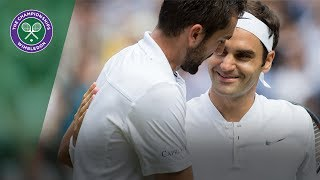 Roger Federer v Marin Cilic highlights - Wimbledon 2017 final
