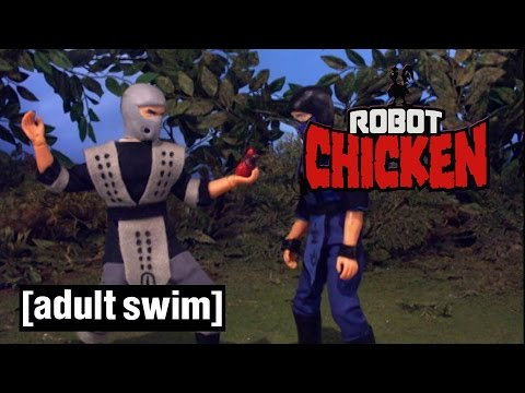 Mortal Kombat Compilation Robot Chicken Adult Swim