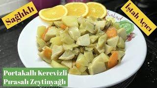 Portakallı Kerevizli Pırasalı Zeytinyağlı - Naciye Kesici - Yemek Tarifleri