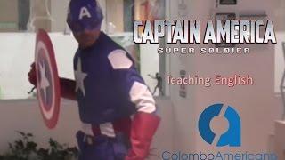 El Capitán América enseña Inglés