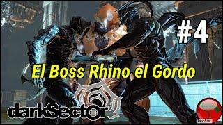 Dark Sector. Cap 4 .El boss Rhino el gordo. Gameplay en español