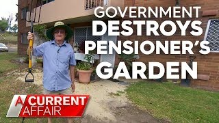 Government bans pensioners from having a garden | A Current Affair